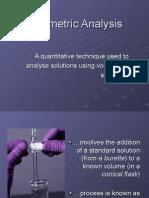 Ch 11 Volumetric Analysis