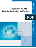 Application Architecture for .NET Designing Applications and Services