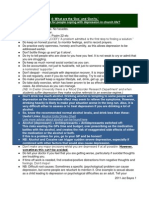 F - Depression Toolkit Study Guide Section 4
