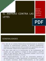 AMPARO CONTRA LAS LEYES