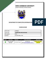 CPTR120 a Course Outline