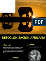 Africa durante la Guerra Fría