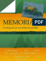 CLASE MEMORIA 2