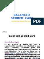 Balanced Score Card1