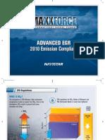 Advanced EGR vs SCR