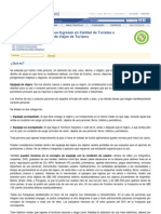 Uruguay - Aduana - Normas para el ingreso de equipaje para extranjeros y ciudadanos. 2005.