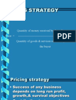 Pricing strategy unit-