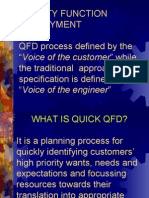 Quality functional deployment .ppt
