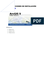 INSTALACION  FACIL ARCGIS