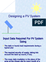 PV-Off Grid Design