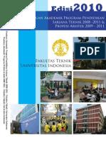 Panduan Akademi S1 Teknik 2010