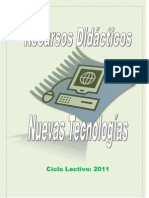 Recursos Didácticos y Nuvas Tecnologías