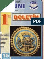 1º Boletin ADUNI 1995