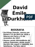 2614007 David Emile Durkheim