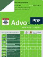 Advocard Rechtsschutz