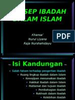 Konsep ibadah dalam islam2[1]