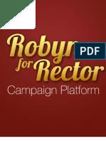 Robyn's Rector Platform