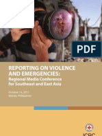 Reporting on Violence and Emergencies