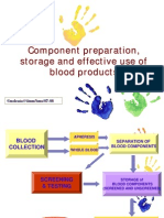 Component & Effective Use of Blood