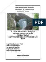 Plan de Manejo Murocomba