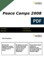 Peace Camps 2008 (German)