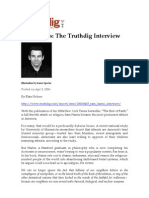 Sam Harris The Truthdig Interview
