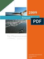 annualreport2009tajpharmaceuticalslimited-110210184210-phpapp02