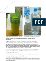 Summary Treatment by CTC for Penetrant Waste Rinses Using AOP Process