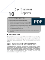 Topic Business Reports