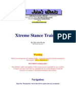 Xtreme Stance Training