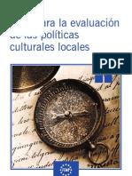 Guía para la evaluación de las políticas culturales locales. Federación Española de Municipios y Provincias