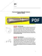 Agitator Shaft Deflection