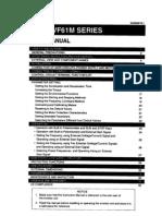 VF61M Inverter Instruction Manual