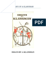 Essays of a Klansman