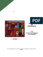CADERNO P16 - TÉCNICA DE MOLDAGEM EM ORTODONTIA