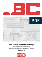 IBC Ball Screw Support Bearings