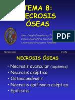 8 - necrosis óseas
