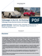 02 Volkswagen in the US an Evolving Growth Story