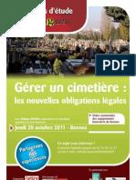 Rennes Cimetière Programme