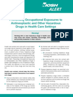 Preventing OccuExpo to Anti Neoplastic Drugs_how To