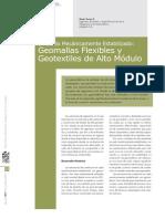 Geomallas Flexibles y Geotextiles