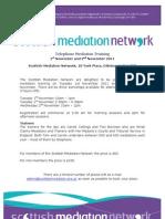 Telephone Mediation Training