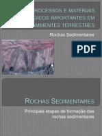 2.1. Rochas sedimentares