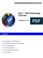 Day1 SAP Basis Overview V1-1