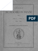 Analele Academiei Române- Memoriile Secţiunii Istorice. Seria II. Volumul 11 . 1888-1889