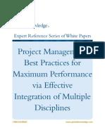 WP PM BestPracticesMxPerfEffectiveIntegreation1[1]