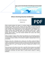 Africa Security Architecture 1