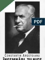 Constantin Argetoianu- Însemnări zilnice. Volumul 06. 1 ianuarie - 30 iunie 1939