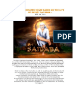 Photos ~ First Animated Movie Based on the Life of Shirdi Sai Baba