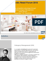 SAP Category Mgt 2010